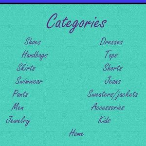 "categories of items for sale - PLEASE DON""T SHARE"